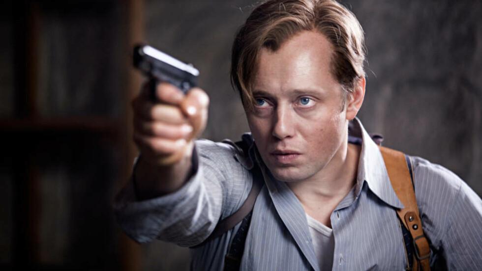 LASTES NED FRA NETTET: «Max Manus», med Aksel Hennie i hovedrollen, har satt rekorder på kino. Nå blir filmen også lastet ned ulovlig fra nettet.