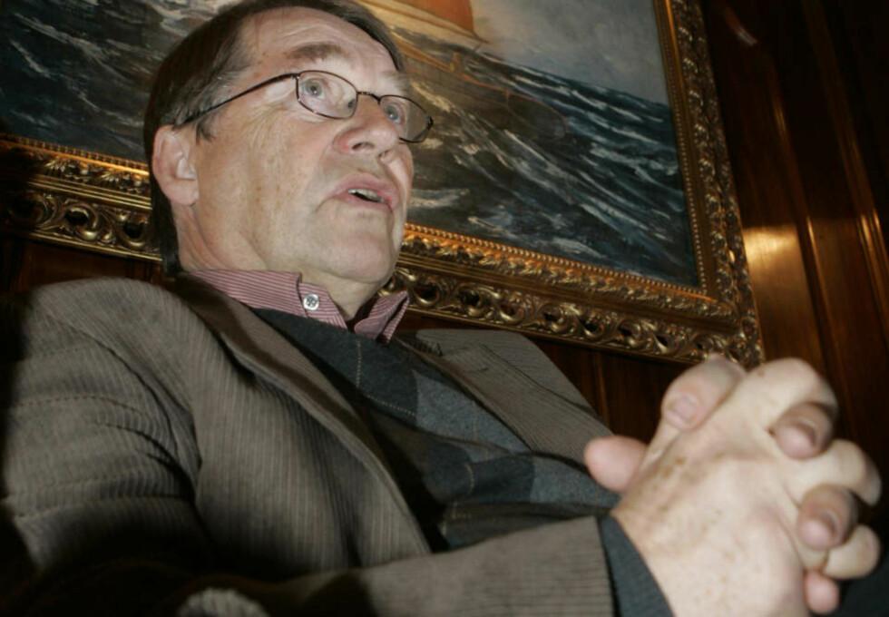 STANS: Tidligere Oslo-biskop Gunnar Stålsett ber om stans i blodbadet. Arkivfoto:  Morten Holm / SCANPIX
