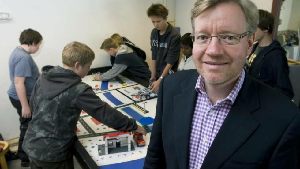 POSITIV: Skolebyråd Torger Ødegaard vil anbefale søknaden dersom skolen innfrir de formelle kravene. Foto: Bjørn Sigurdsøn / SCANPIX