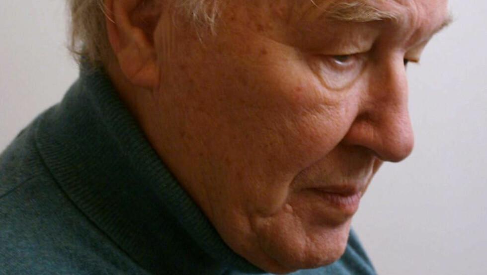 <strong>HEDRES:</strong> Den 82 år gamle datamusikk-pioneren Knut Wiggen blir hedret under Festspillene i Bergen i år. Foto: FESTSPILLENE / CAROL VAN NUYS