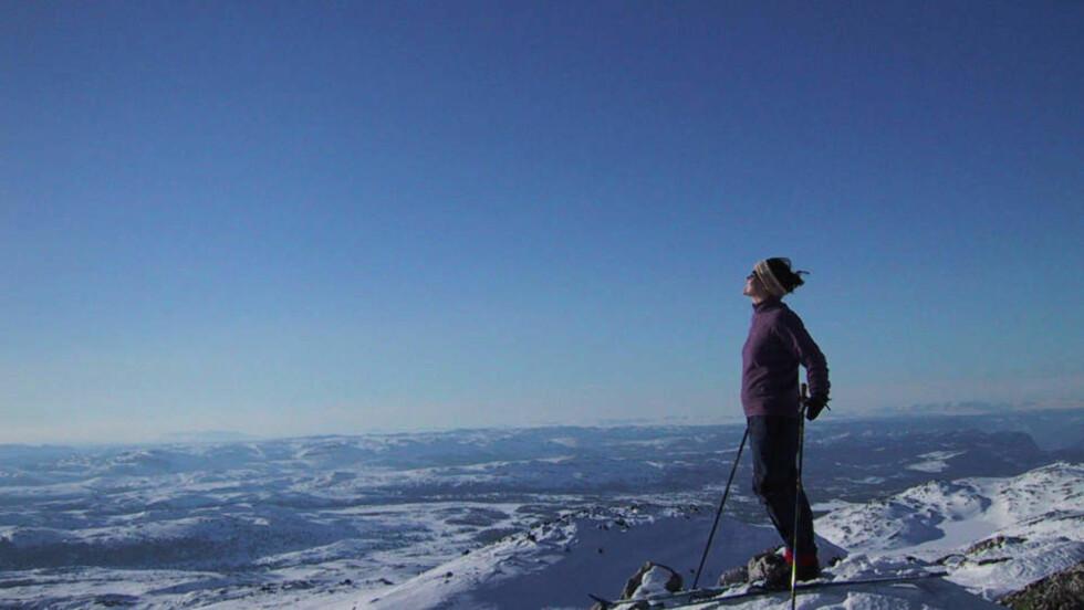 SKIVÆR: Nå kommer endelig snøen og vinterværet til Østlandet. Bildet er tatt på Eggedalsfjella. Arkivfoto: SCANPIX