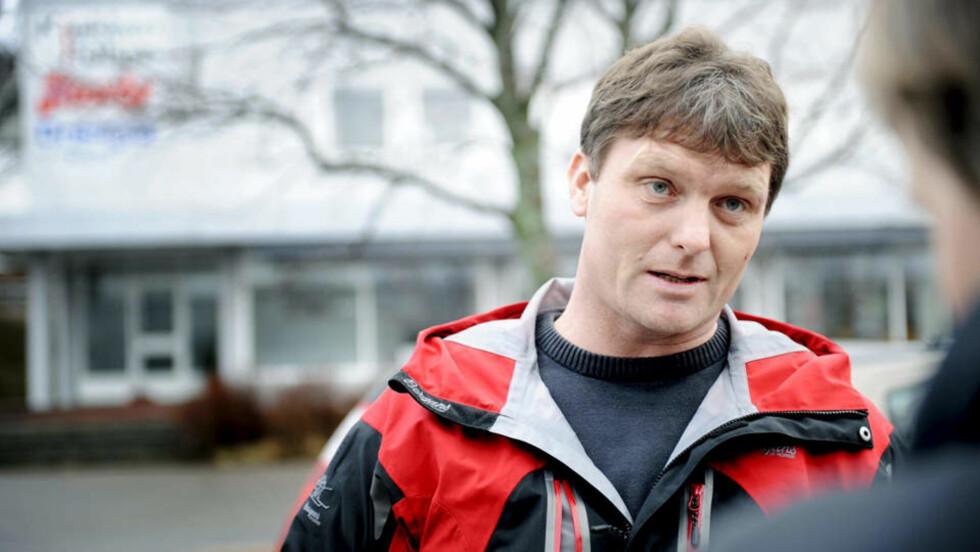 RENVASKET - ELLER?: Byggmester Harald Langemyhr (43) selv hevder hardnakket at han nå er renvasket i rettssystemet for anklagene om sosial dumping. Foto: CHARLOTTE SCHJØLL/SCANPIX