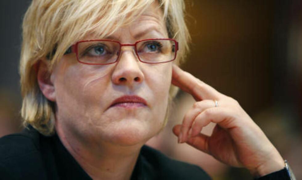 STORE FORVENTNINGER: YS-leder Tore Eugen Kvalheim har store forventninger til finansminister Kristin Halvorsens (SV) tiltakspakk. Foto: Erlend Aas / SCANPIX