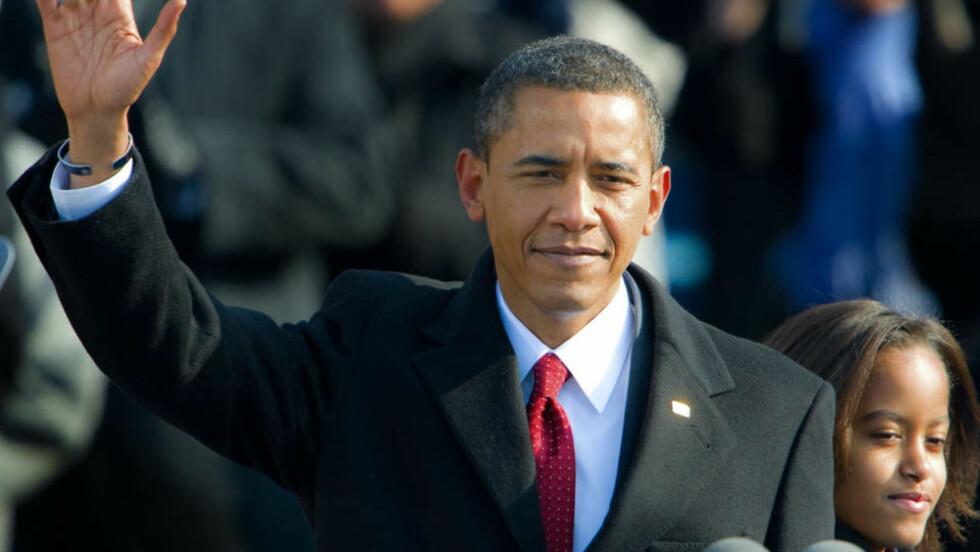 I DAG STARTER JOBBEN: President Barack Obama begynner i dag på sin første dag i verdens viktigste jobb. Politisk ekspert Terry Madonna tror Obama vil innfri, men at hvetebrødsdagene vil vare lenger enn folk tror. Foto: SCANPIX