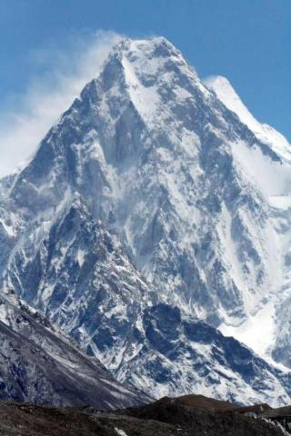 NEST HØYEST I VERDEN pakistanske K2 på 8611 meter er kjent for å være et av de vanskeligste i verden å klatre.