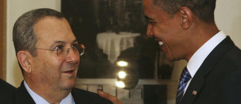 KREVENDE JOBB: Barack Obama har en rekke aktører å forholde seg til i Midtøsten. Ehud Barak er bare en av dem. Foto: Dan Balilty/AFP/Scanpix