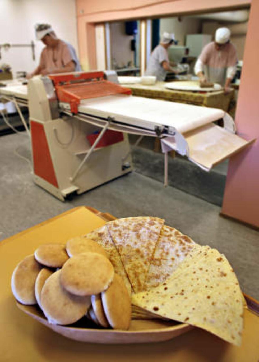 SMAKER GODT: Lefser fra Leveld Lefsebaker i Ål. Foto: Ole C. H. Thomassen/Dagbladet