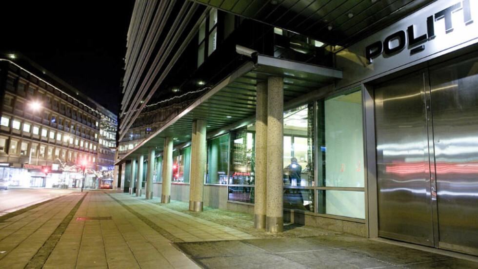 FORSKNINGSOBJEKTET: Sentrum politistasjon i Oslo. Foto: BJØRN LANGSEM