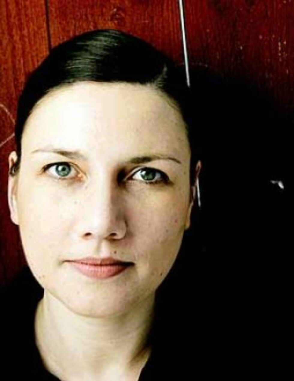 <strong>RØRT:</strong> Det er alltid like rørende å snakke med folk som snakker om ytringsfrihet på nett, men som aldri har vært i debatt på nett, og som ikke vet hva en blogger er, sa Heidi Nordby Lunde, også kjent som bloggeren Vampus. Foto: Jørn H. Moen