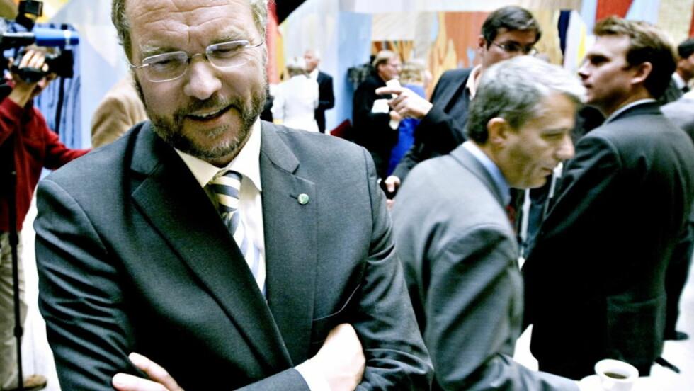 TIL ANGREP: Venstre-leder Lars Sponheim på Stortinget. Foto: Scanpix