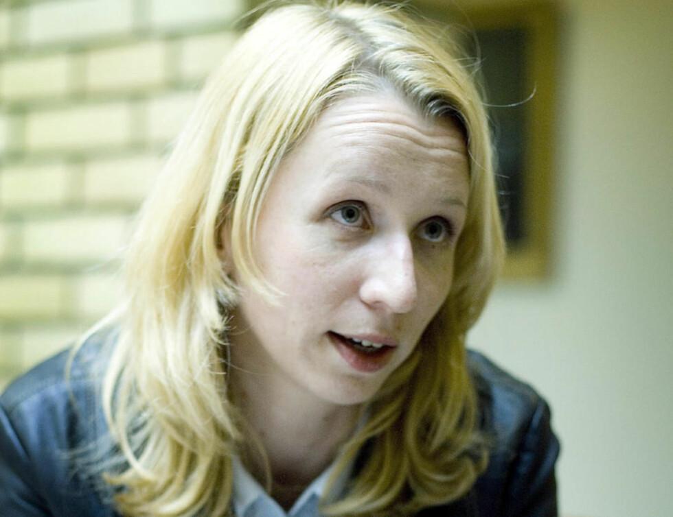 ANKLAGES: Astrid Aas-Hansen (Ap) i Stortingets vandrehall. Aas-Hansen er statssekretær i Justisdepartementet. Foto: Bjørn Langsem / Dagbladet