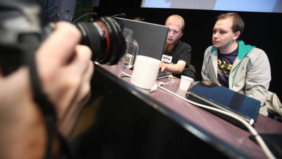 TILTALTE: Gottfrid Svartholm Warg og Peter Sunde. Foto: SCANPIX