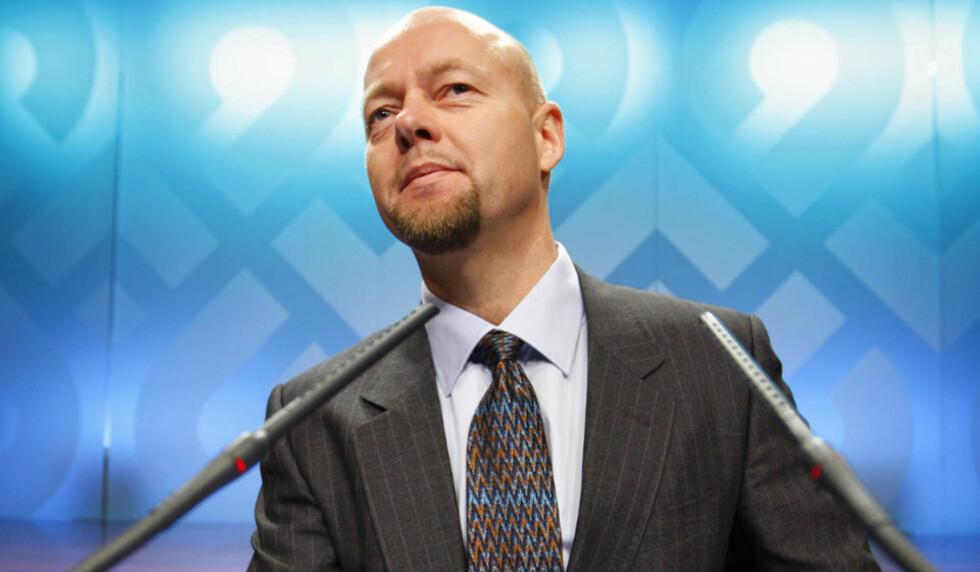 FIKK GOD LØNN: Direktør Yngve Slyngstad i Norges Bank Investment Management (NBIM)m Statens pensjonsfond - Utland, også kalt Oljefondet. Foto: Erlend Aas/SCANPIX
