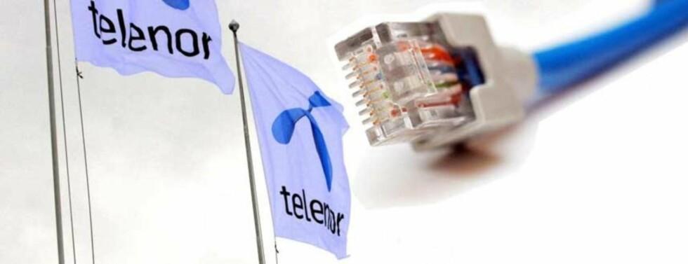 SPERRER IKKE: Telenor avviser kravet fra aktører i plate- og videobransjen om at selskapet må stenge kundenes tilgang til fildelingstjenesten The Pirate Bay. Fotomontasje: SCANPIX/DAGBLADET.NO