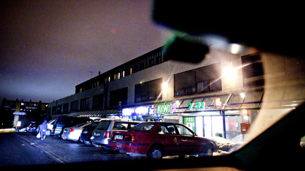 KIDNAPPET:  Det var forrige torsdag at 23-åringen ble hentet i en butikk på Veitvetsenteret i Groruddalen i Oslo. Foto: Lars Eivind Bones