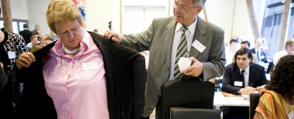 BLIR IKKE ETTERFORSKET VIDERE:  Gro Harlem Brundtland og Kjell Magne Bondevik vil ikke bli etterforsket videre av Økokrim. Arkivfoto: Sara Johannessen / SCANPIX .