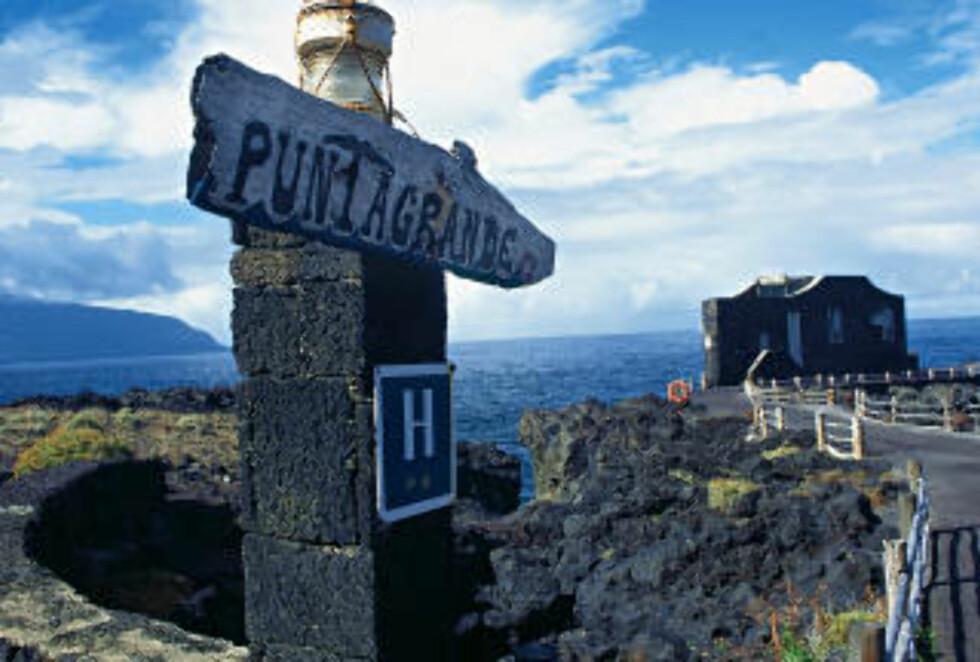 EL HIERRO: Den minste Kanariøya er stedet for den som vil være i fred for andre turister. Foto: Star Tour