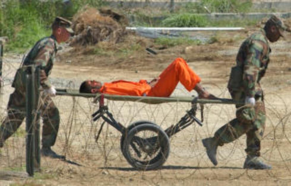 GUANTANAMO: Myndighetene har innrømmet tortur. foto: Lynne Sladky/AP/Scanpix