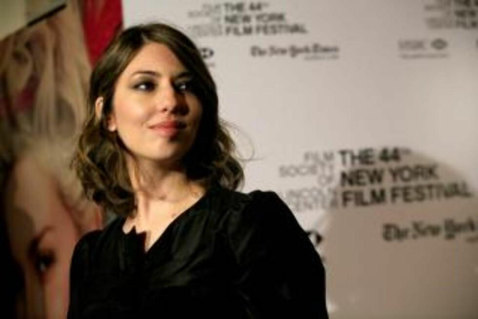 PIONER: Sofia Coppola var første amerikanske kvinne nominert til Oscar for beste regi. Det skjedde så seint som i 2003. Foto: SCANPIX