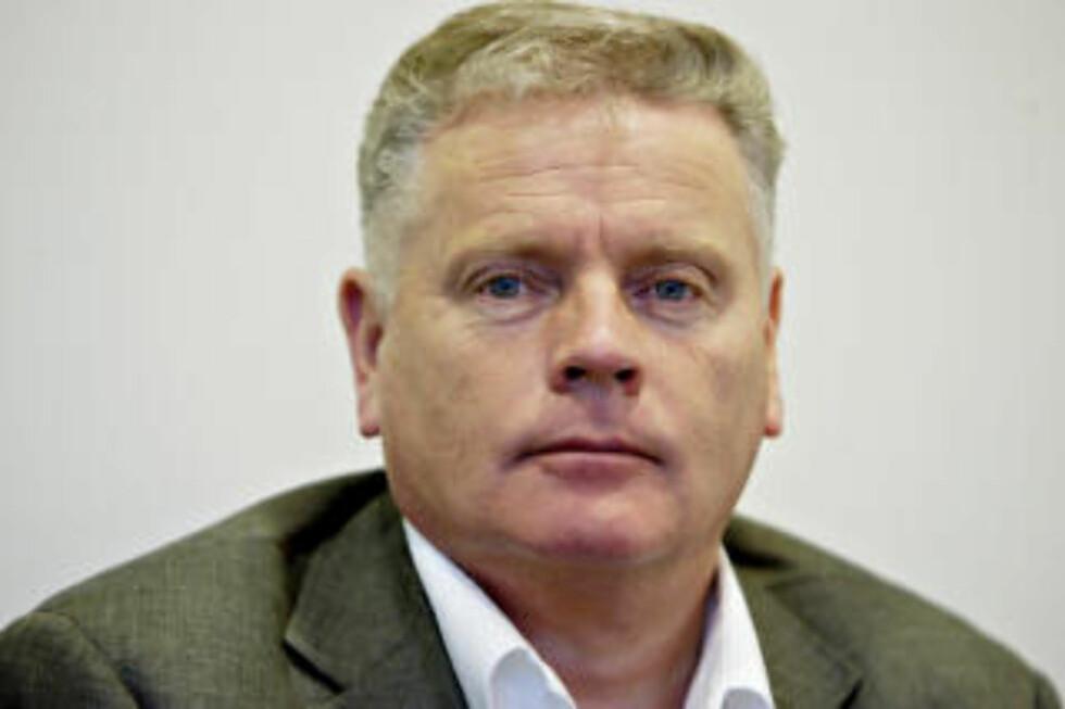 FORSVARTE VALLA: Fagforbundets leder Jan Davidsen  får sterk kritikk for å ha forsvart Valla.' Foto: Stian Lysberg Solum / SCANPIX