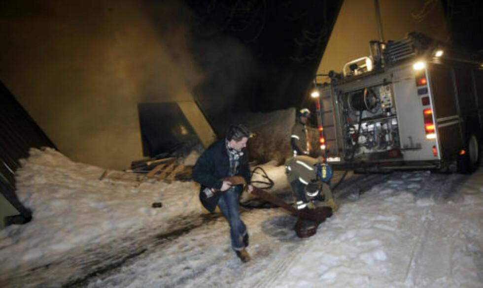 SEKS BRANNTILLØP:  Med to branntilløp i går kveld har det vært totalt seks  branntilløp ved Frammuseet på Bygdøy i Oslo den siste tiden. Også Kon-Tiki-museet ble forsøkt tent på i går.  Foto: Terje Bendiksby / SCANPIX