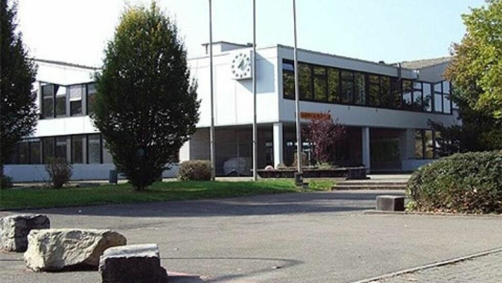 RAMMET AV SKOLEMASSAKRE: Skolen Albertville-Realschule i Winnenden. Foto: www.ars-winnenden.de