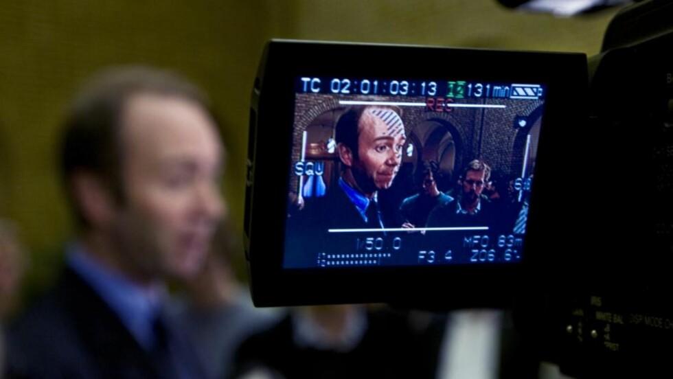 OVERMOT: Trond Giske vil være sjefen over alle sjefer. FOTO: SCANPIX