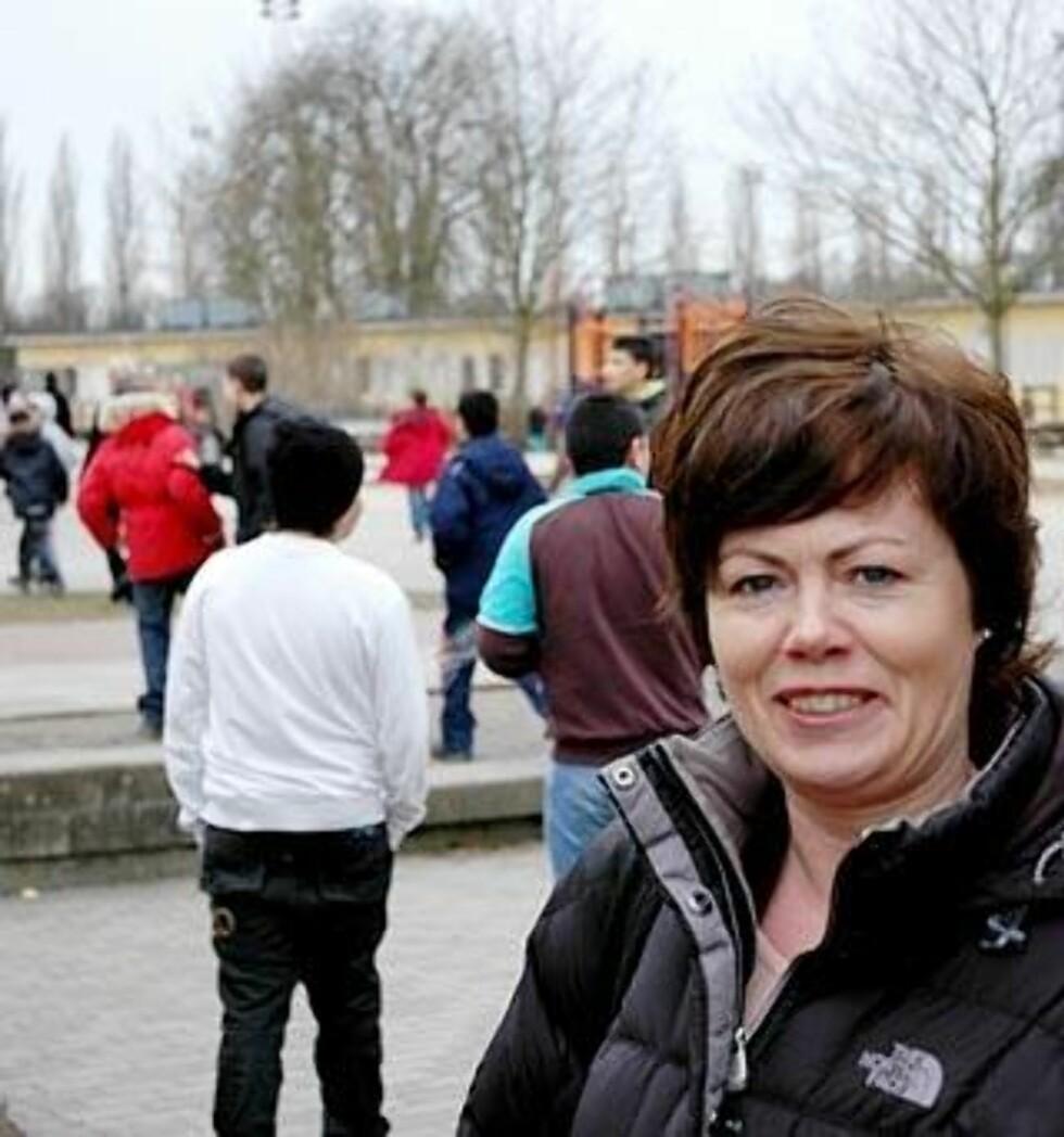 LEVER MED SVENSK LOV: Justispolitiker Solveig Horne fra Frp har fått inntrykk at det er svensk lov befolkningen i Rosengård lever med, ikke Sharia.