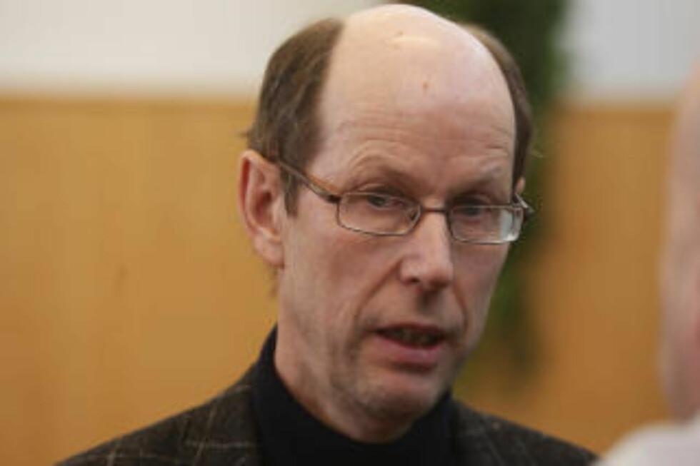 VEGVESENET: Knut Nauste i Statens Vegvesen ansvarlig for vegarbeidet i Kattmarka. Foto: HANS ARNE VEDLOG