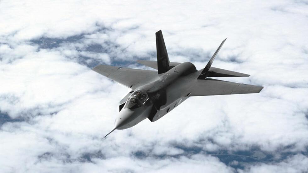 JOINT STRIKE FIGHTER: Ifølge den amerikanske kongressen kan de nye flyene fra  Lockheed Martin koste over en milliard kroner i direkte innkjøpspris. Foto: Scanpix.