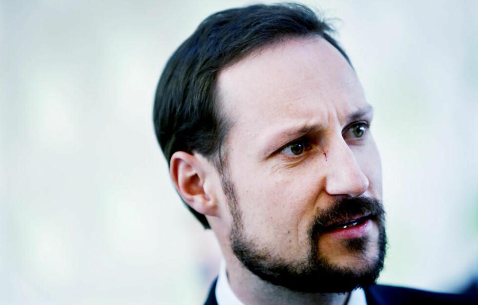VIL HAN TA ORDET? I utgangspunktet skal Kronprins Haakon være tilhører i hatdebatten, men arrangøren utelukker ikke at han vil holde en form for appell. Foto: SCANPIX