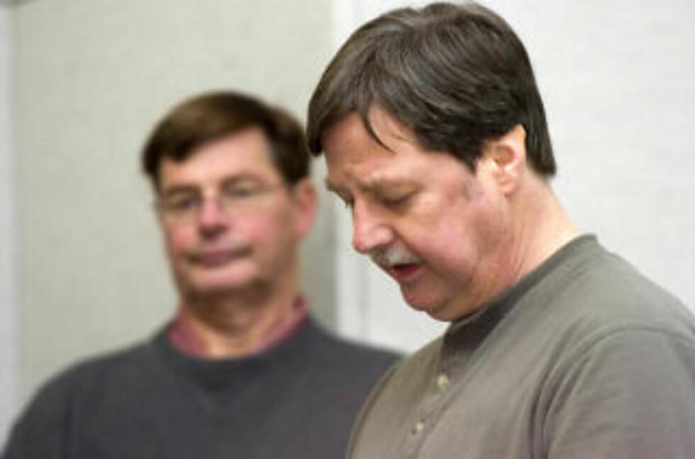 FAMILIEN SAKSØKER: Mike Nash, Charla Nashs tvillingbror, er blant dem som har gjort klar søksmålet. Foto: AP/The Advocate, Chris Preovolos/Scanpix