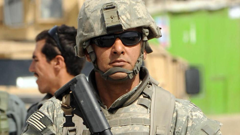 MOBILISERER: NATO ber om flere soldater i Afghanistan. Her et amerikansk eksemplar av arten. Foto: Massoud Hossaini/AFP/Scanpix