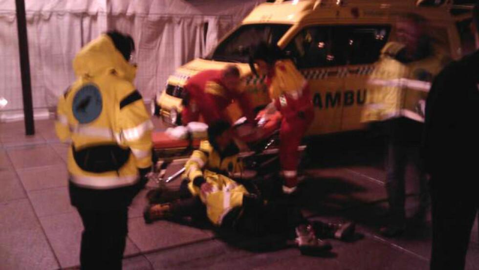 OVERFALT: En kvinnelig natteravn ble overfalt av to personer i Moss sentrum. MMS-foto: 2400/Knut Michael Haugland.'