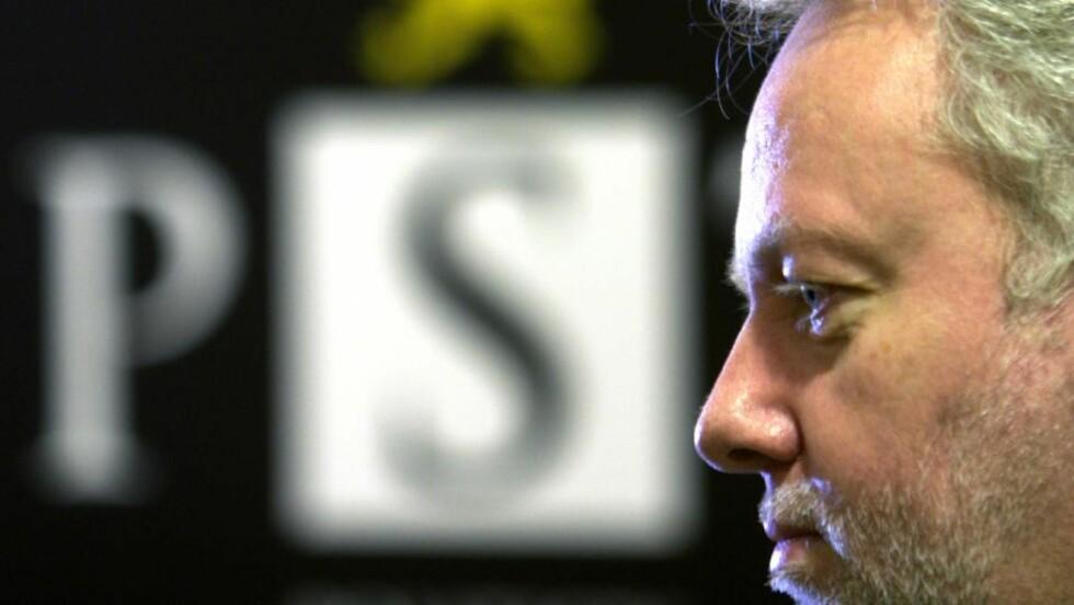 PST SJEF: Jørn Holme. FOTO: MORTEN HOLM / SCANPIX