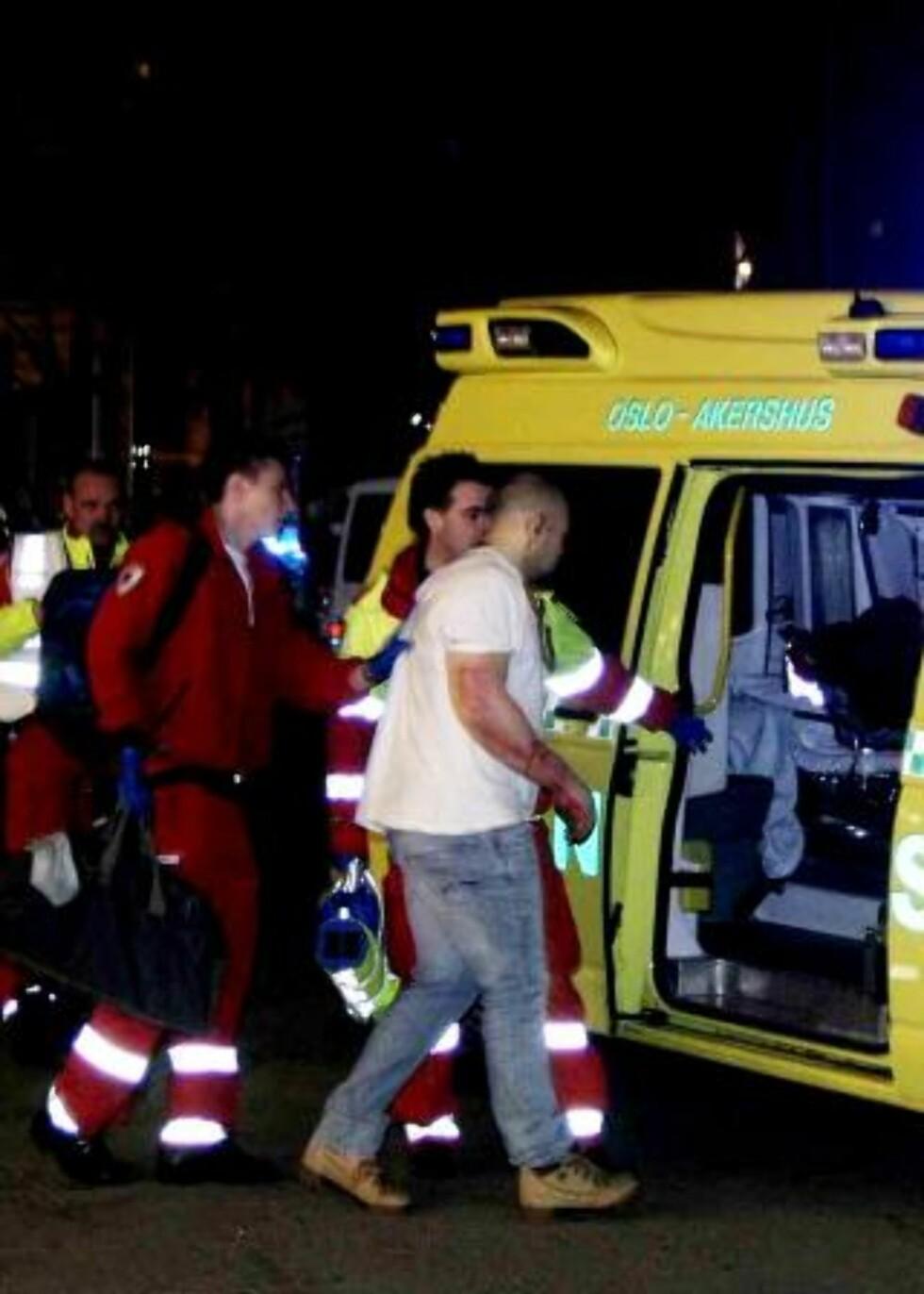 DØRVAKT SKUTT: En dørvakt på utestedet Rå ble truffet i armen. Foto: ROGERIO SNARLI