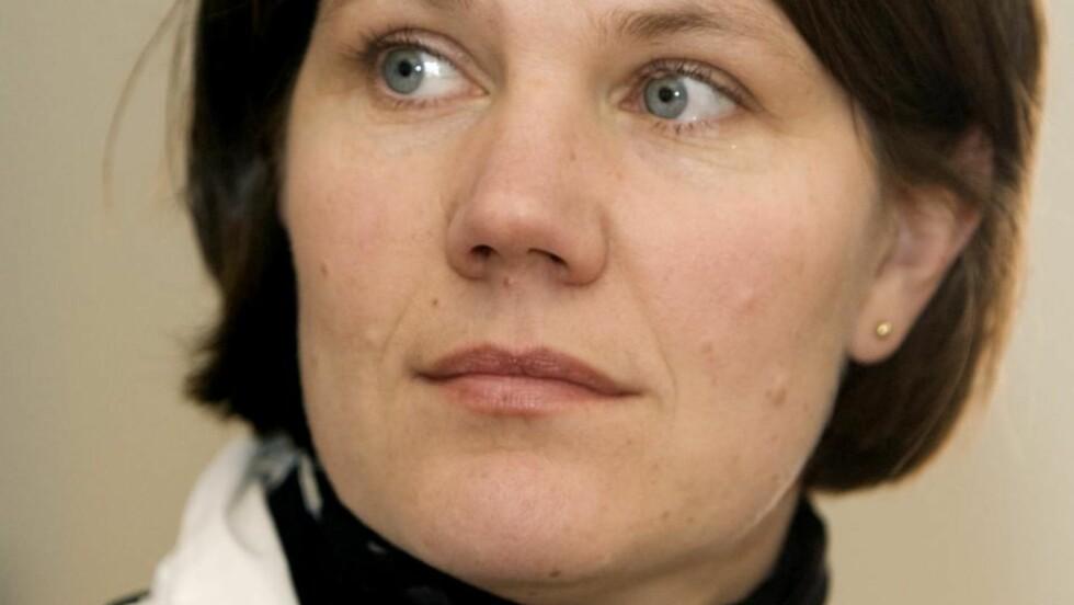 - TOPPEN AV ISFJELL: Det mener seniorrådgiver Cecilie Rønnevik i Datatilsynet. Foto: Knut Falch / SCANPIX