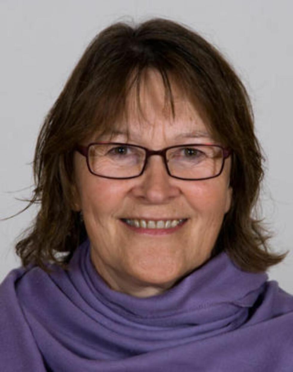 DREPT: Ragna Christensen (61). Foto: Trond Magne Henriksen