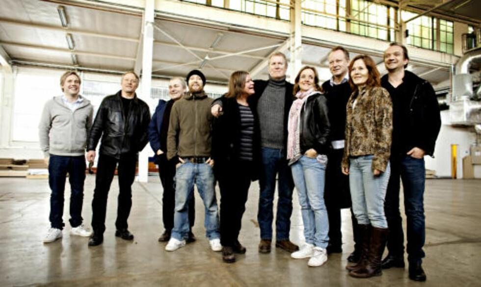 STJERNELAG: Gjengen i og bak «Regnskap». Foto: DAGBLADET/LARS EIVIND BONES