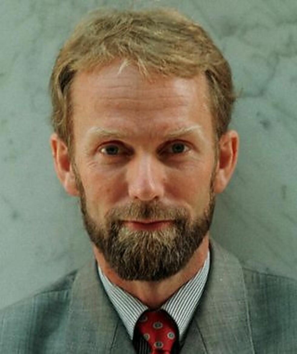 MENER NORGES BANK TAR I: Sjeføkonom Harald Magnus Andreassen hos First Securities A/S. Scan-Foto: Tor Richardsen