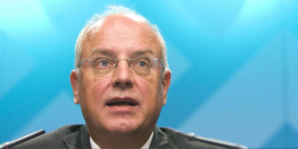 SATTE NED RENTA: Visesentralbanksjef Jan Qvigstad i Norges Bank.