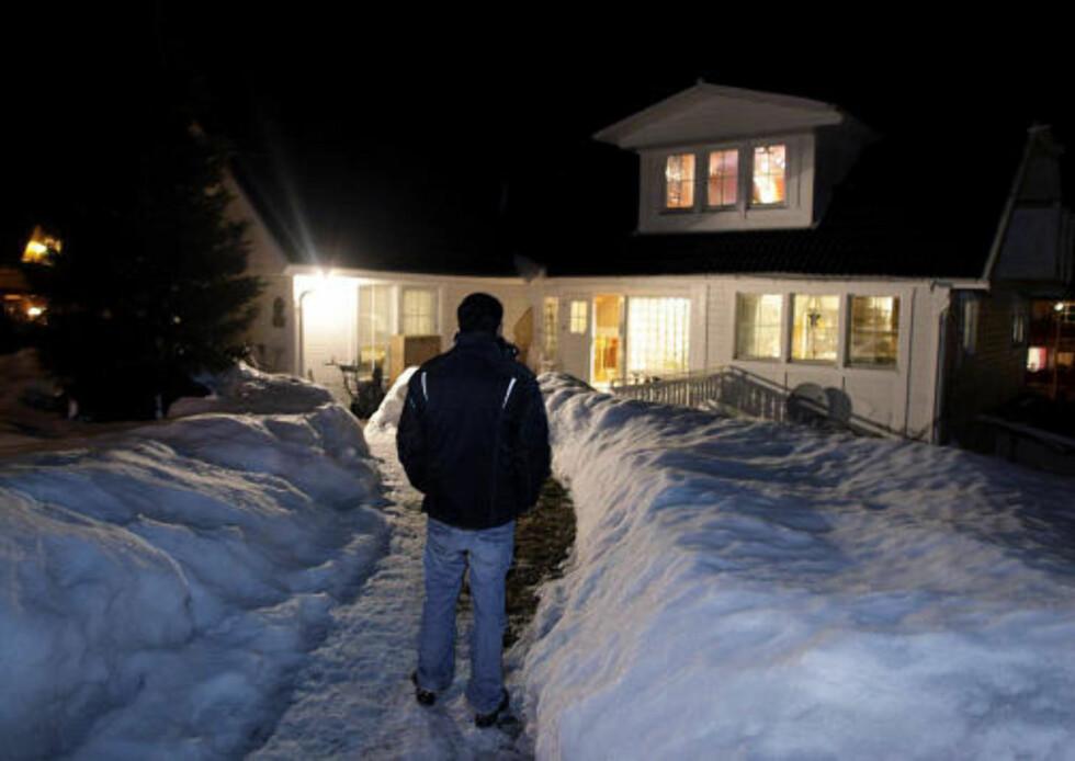 ROLIG VILLASTRØK: 26-åringen spør seg om noen kan ha visst at familien hadde en del verdisaker hjemme i en kort periode. Foto: ESPEN RØST