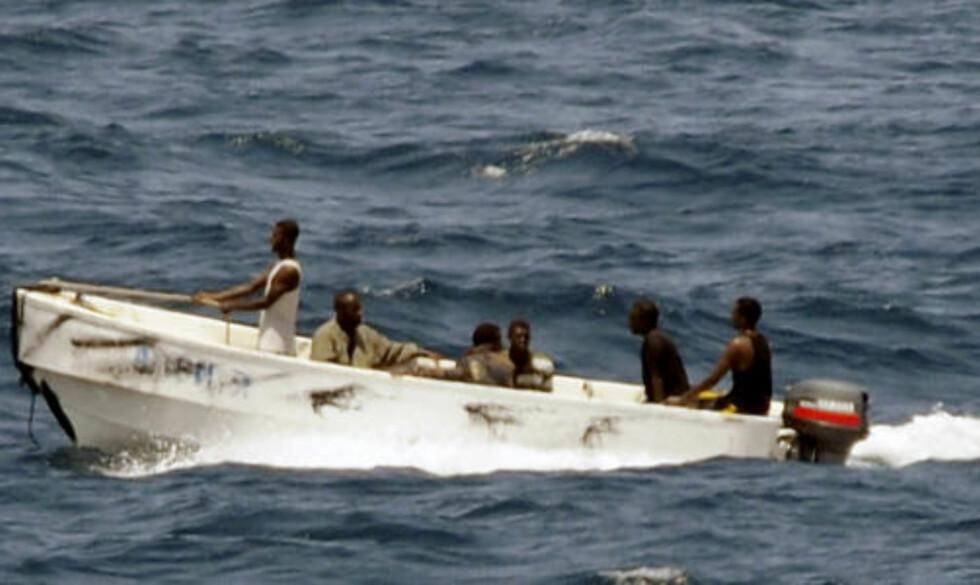 BIG BUSINESS: I det lovløse Somalia livnærer store grupper langs kysten seg ved å kreve løsepenger for kaprede skip. Arkivfoto: SCANPIX