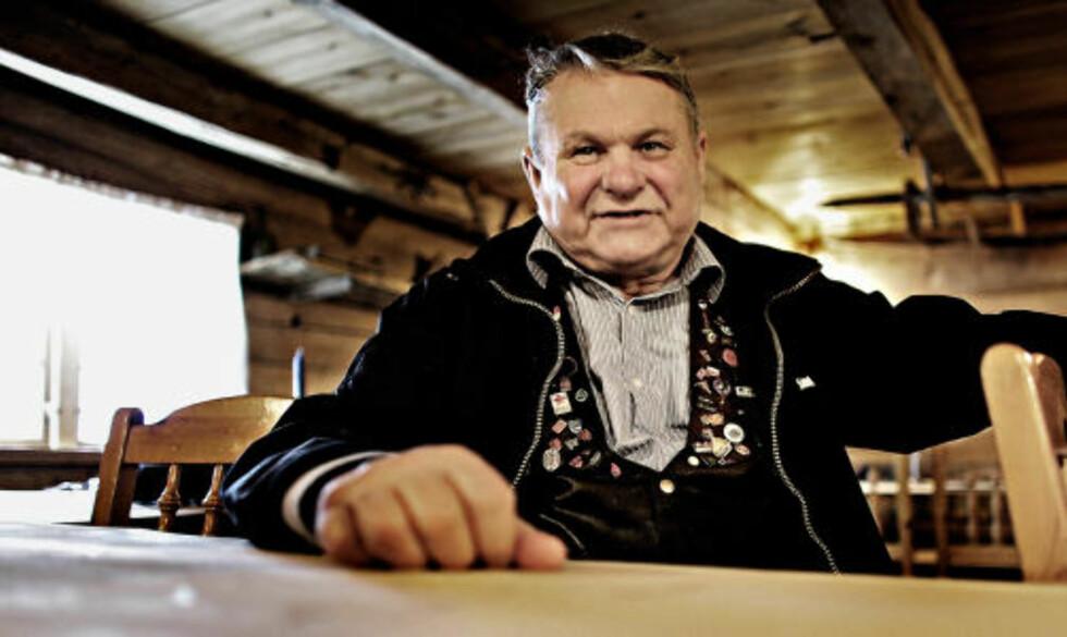 LUN: Ivar L. Løne er en trivelig kar med lun vossadialekt