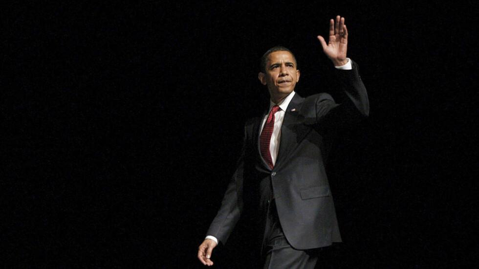 VISJONÆR: President Barack Obama vil samle verdens tungvektere i Washington - for å sikre en ny klimaavtale i København i desember. I dag er Obama-administrasjonen på plass i Bonn, der 190 nasjoner begynner arbeidet med en forbedret avtale. Foto: JIM YOUNG / REUTERS / SCANPIX