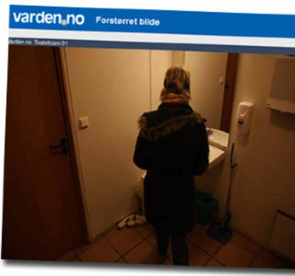 Varden har installert webkameraer på noen offentlige toaletter rundt om i Grenland. Hensikten er blant annet å forebygge kriminalitet.
