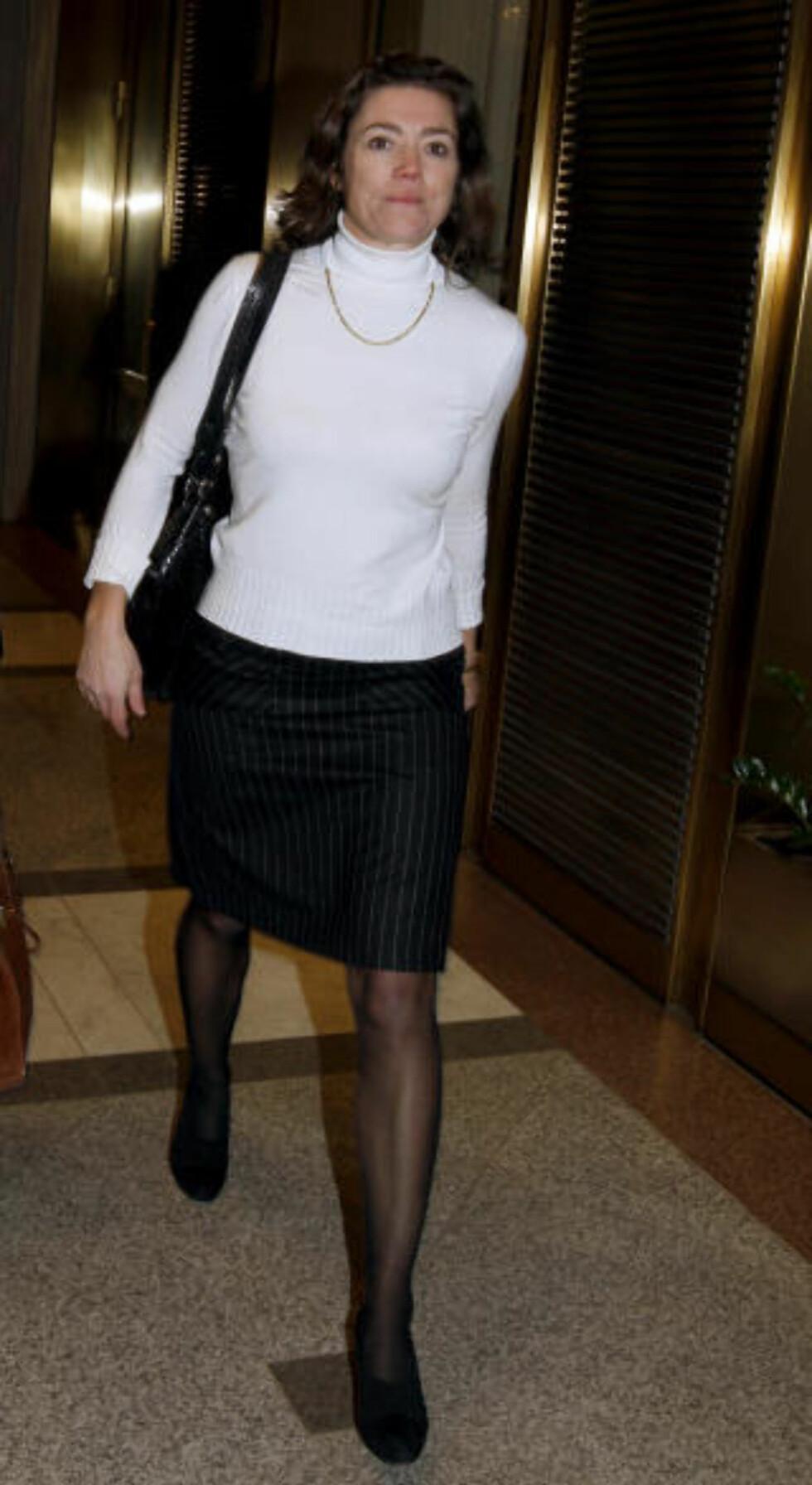 -VISER OMSTILLINGSEVNE: Administrerende direktør i Aftenposten, Kristin Skogen Lund, er fornøyd med tiltakspakken. Foto: Terje Bendiksby/SCANPIX