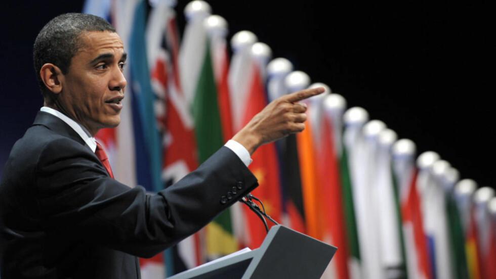FØRSTE TOPPMØTE: G20-møtet i London ble avsluttet i dag med enighet om en omfattende tiltakspakke som skal få verdensøkonomien på fote igjen. USAs president Barack Obama deltok for første gang og var svært fornøyd med den gode dialogen han hadde med kollegaene. Foto: Saul Loeb/Scanpix