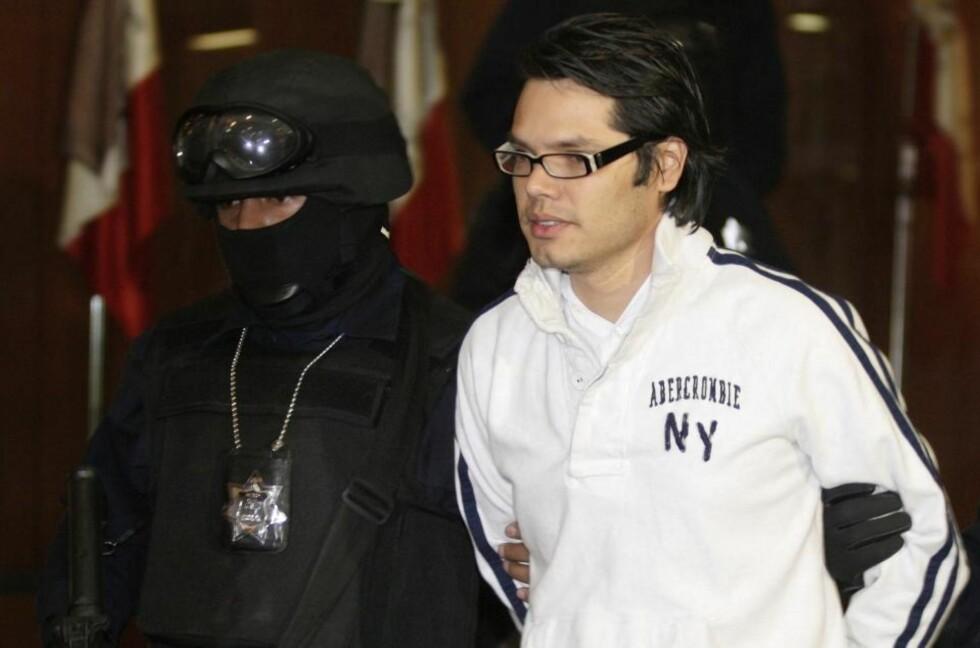 FAKKET: Meksikanske Vicente Carrillo Leyva er nestleder i et av verdens mektigste narkokarteller, ansvarlig for enorme mengder narkosmuglig og drap. I går ble han arrestert mens han trente. Foto: Scanpix/REUTERS/Daniel Aguilar