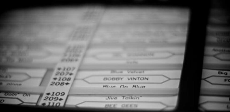 VINYLALDERENS IPOD: Jukeboxen var full av vinylmagi i syv tommers størrelse. Foto: adam & lucy under en Creative Commons-lisens.